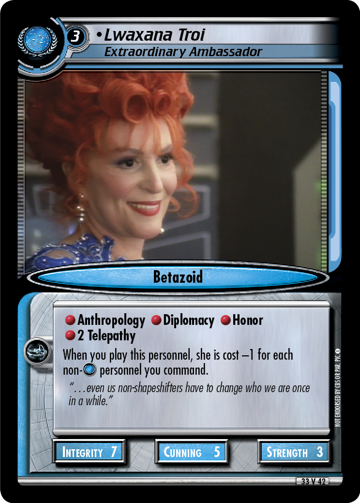 Lwaxana Troi (Extraordinary Ambassador)