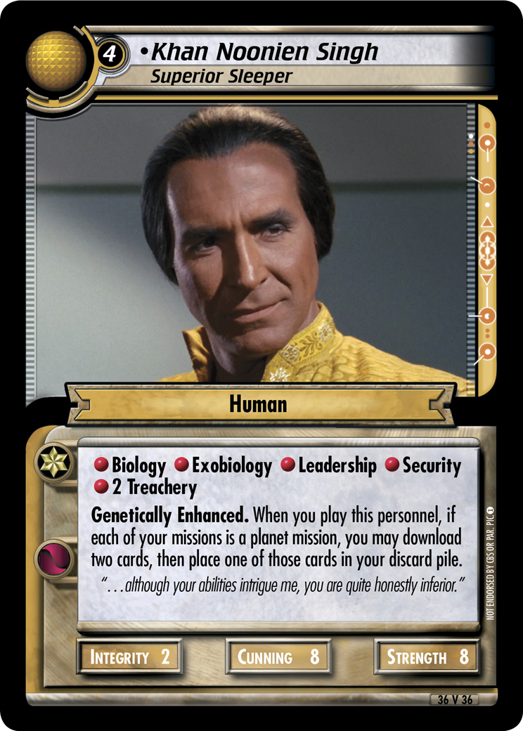 Khan Noonien Singh (Superior Sleeper)