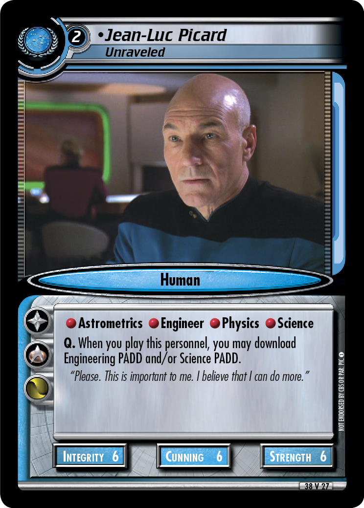 Jean-Luc Picard (Unraveled)