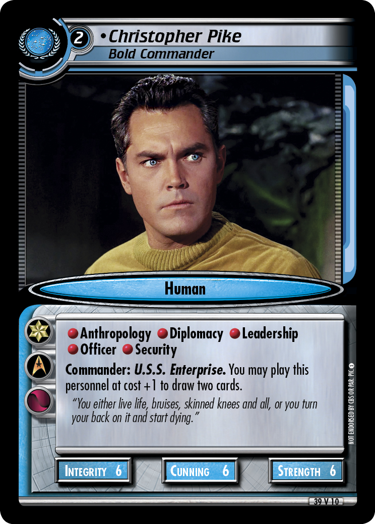 Christopher Pike (Bold Commander)