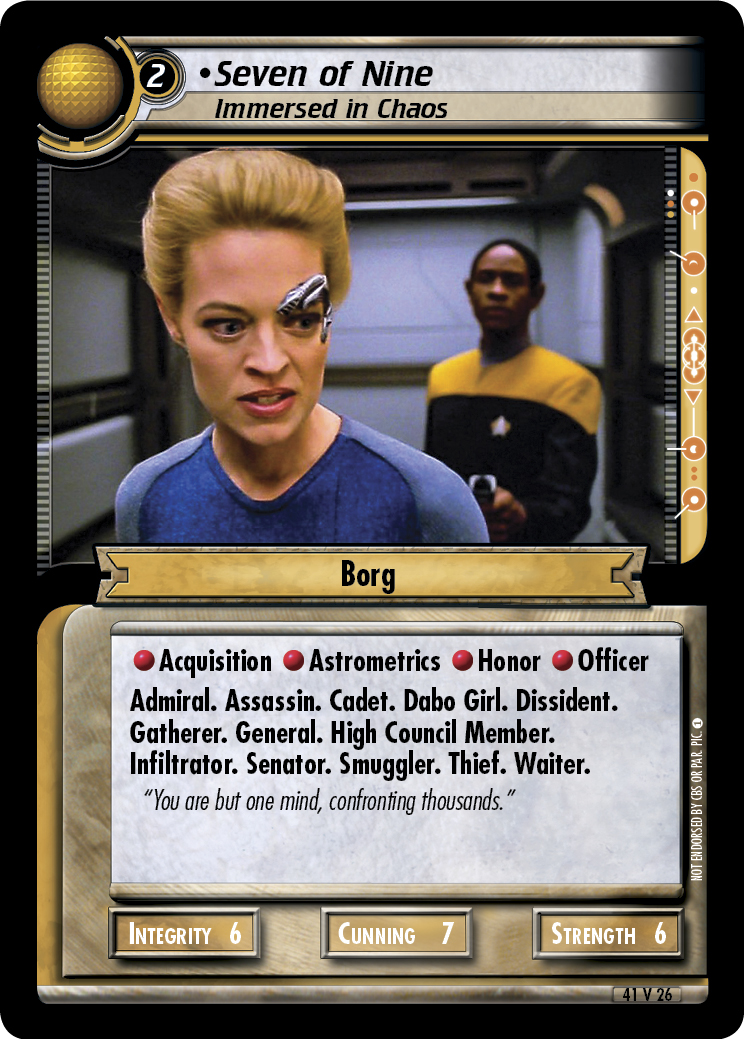 Seven of Nine (Immersed in Chaos)
