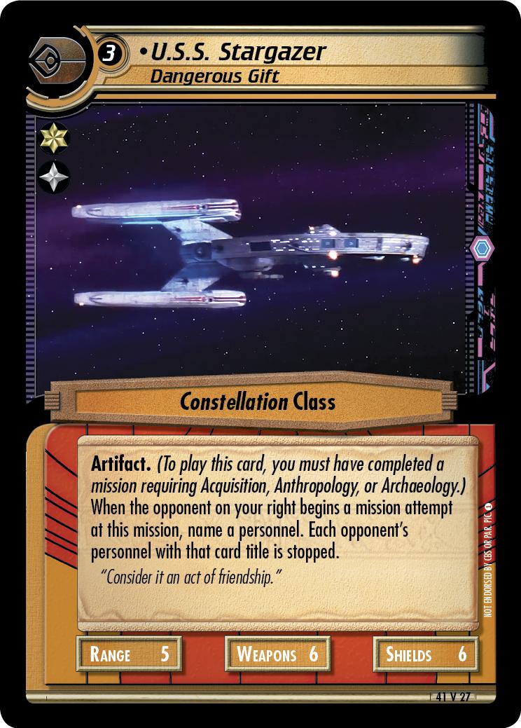 U.S.S. Stargazer