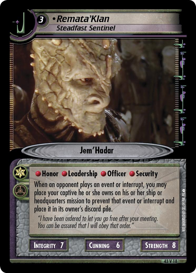 Remata'Klan (Steadfast Sentinel)