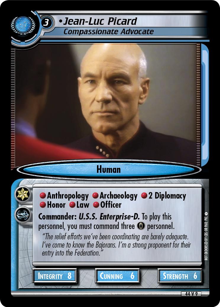 Jean-Luc Picard (Compassionate Advocate)