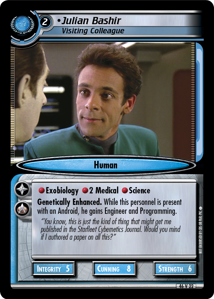 Julian Bashir (Visiting Colleague)