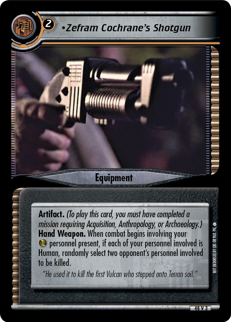 Zefram Cochrane's Shotgun