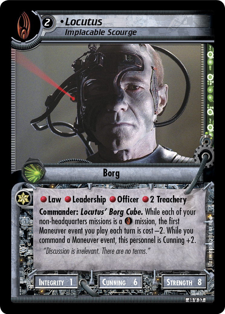 Locutus (Implacable Scourge)