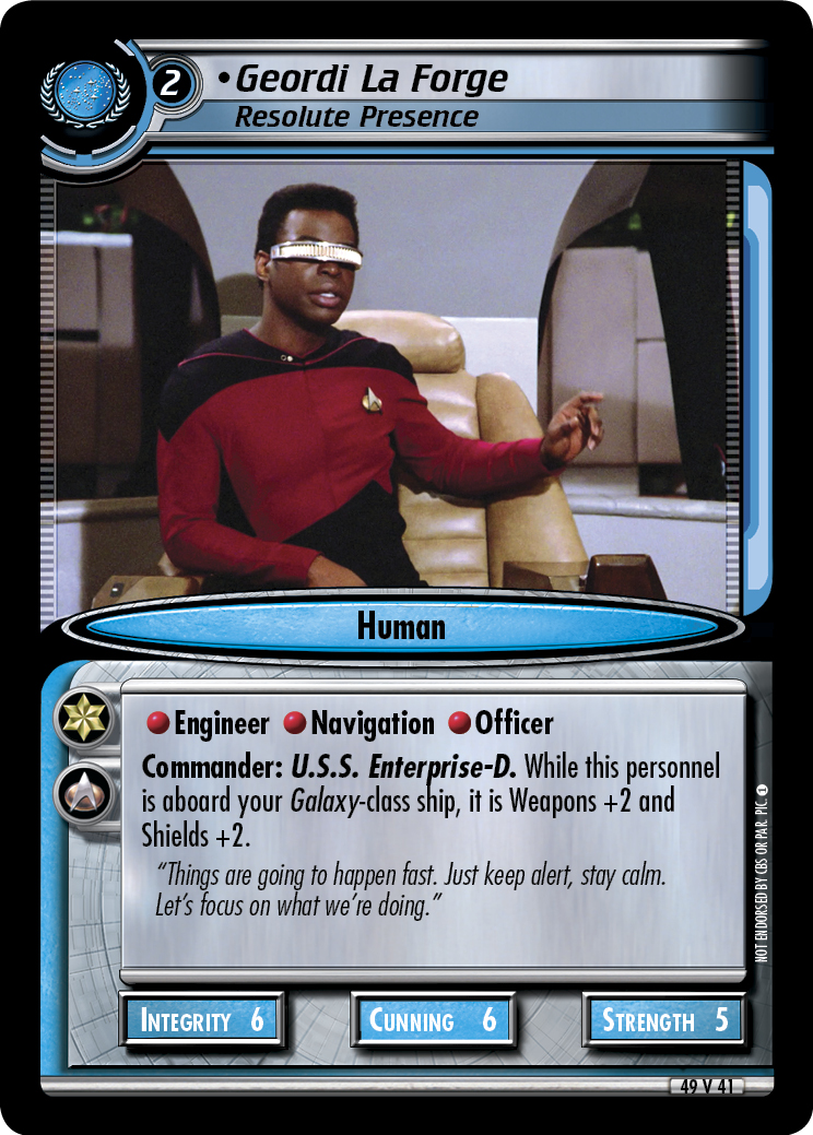 Geordi La Forge (Resolute Presence)