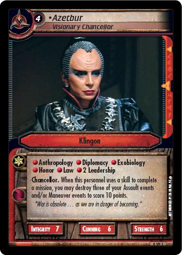 Azetbur (Visionary Chancellor)