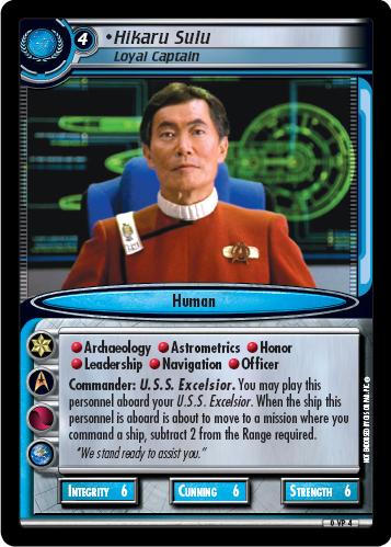Hikaru Sulu (Loyal Captain)
