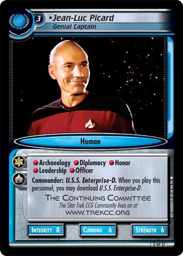 Jean-Luc Picard (Genial Captain)