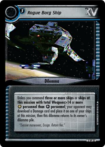 Rogue Borg Ship