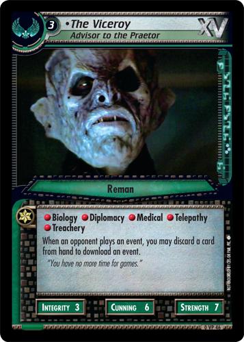 The Viceroy (Advisor to the Praetor)