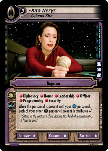 Kira Nerys (Colonel Kira)