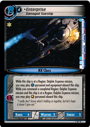 Enterprise (Damaged Starship)