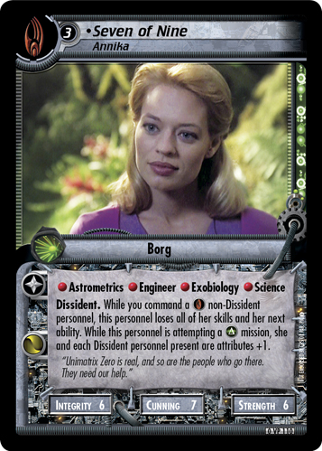 Seven of Nine (Annika)