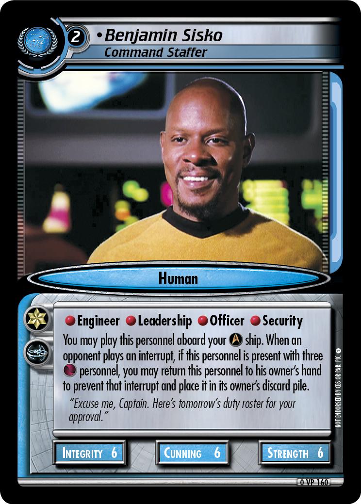 Benjamin Sisko (Command Staffer)