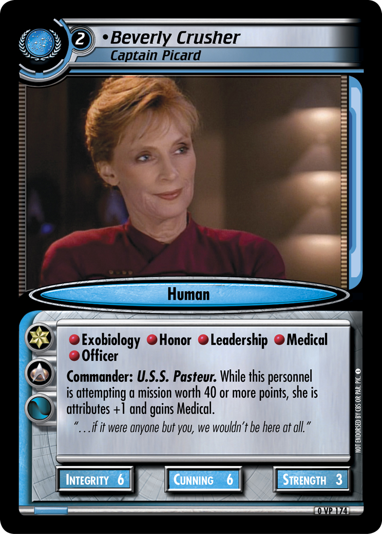 Beverly Crusher (Captain Picard)