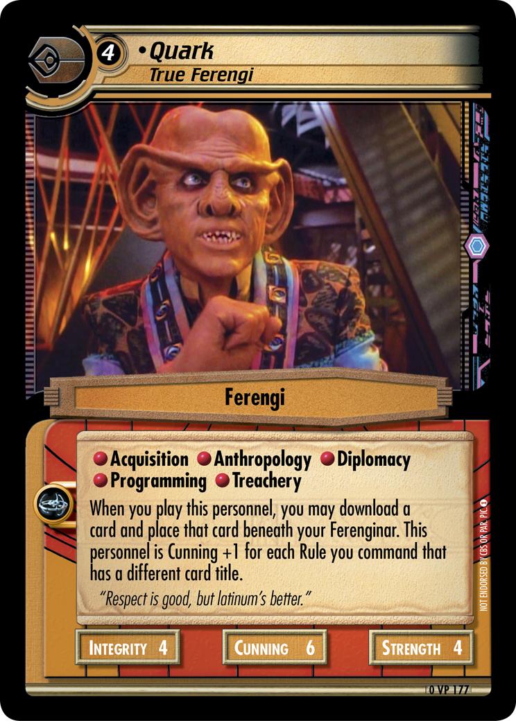 Quark (True Ferengi)