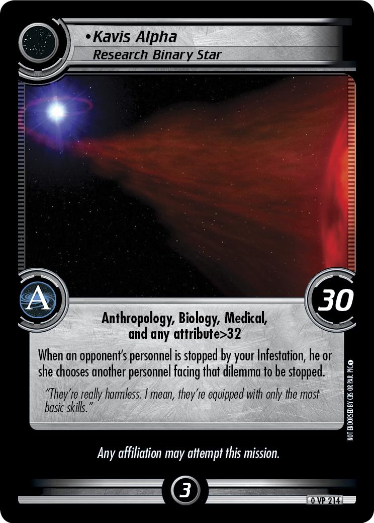 Kavis Alpha (Research Binary Star)