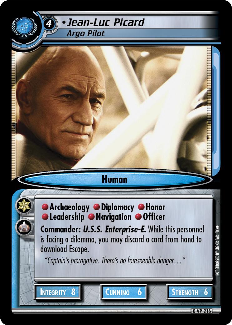 Jean-Luc Picard (Argo Pilot)