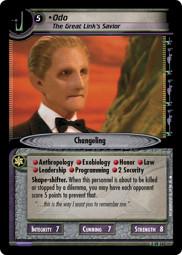 Odo (The Great Link's Savior)