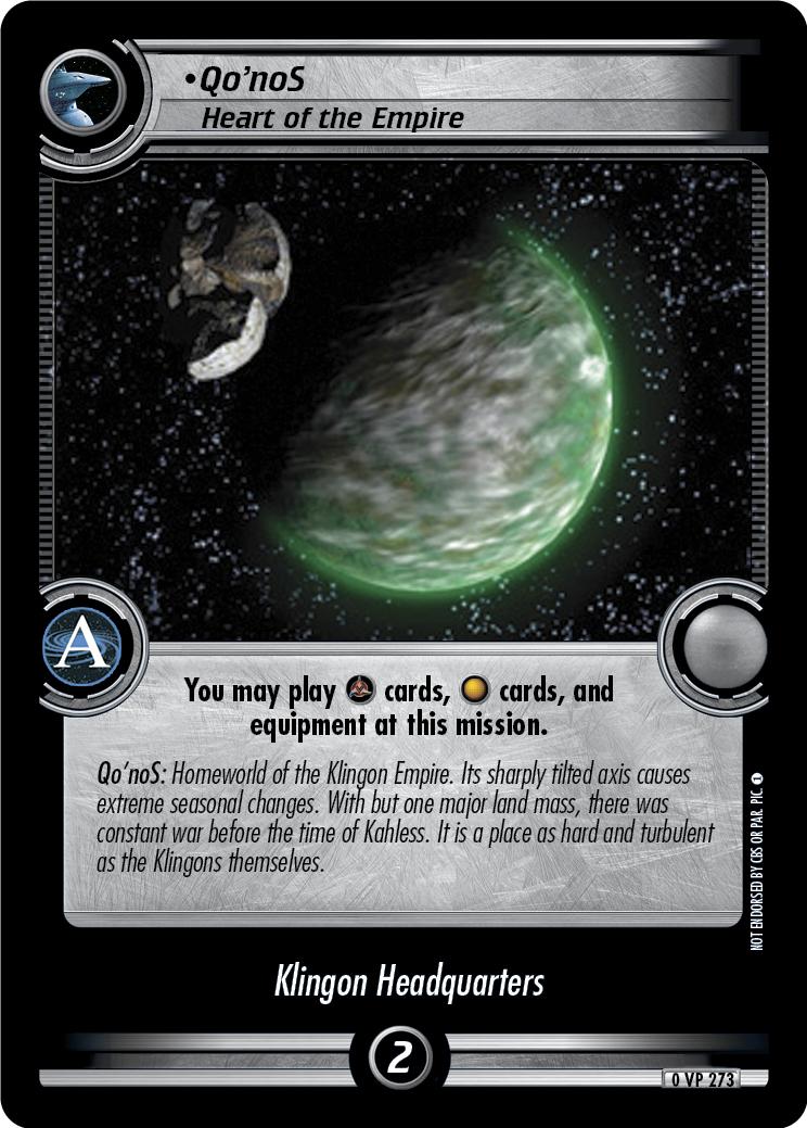 Qo'noS (Heart of the Empire)
