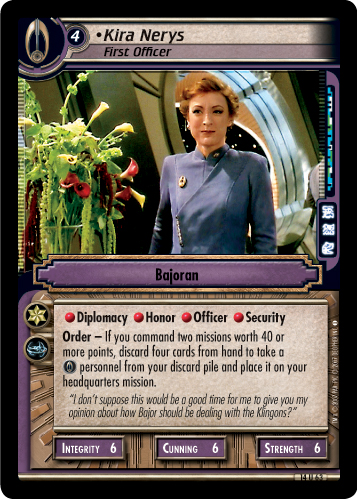 Kira Nerys (First Officer)