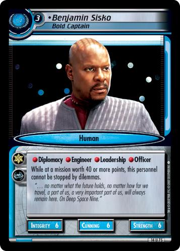 Benjamin Sisko (Bold Captain)