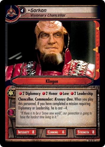 Gorkon (Visionary Chancellor)