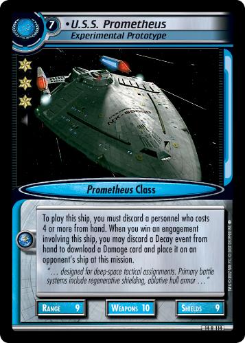 U.S.S. Prometheus (Experimental Prototype)