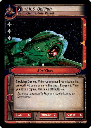 I.K.S. Qel'Poh (Clandestine Vessel)