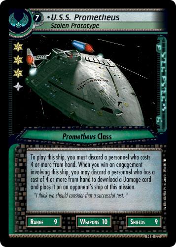 U.S.S. Prometheus (Stolen Prototype)