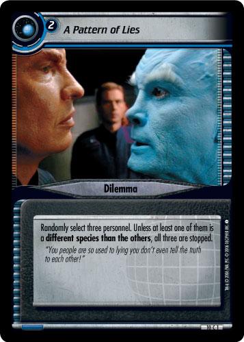 A-K Star Trek CCG DS9 Rare Cards Part 1//2