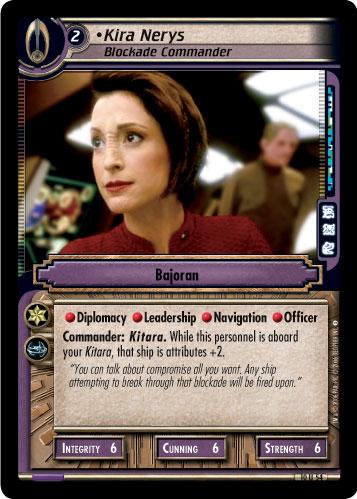 Kira Nerys (Blockade Commander)
