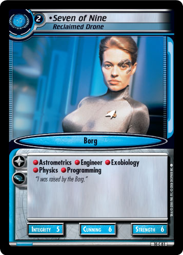 Seven of Nine (Reclaimed Drone)