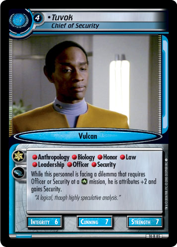 Tuvok (Chief of Security)