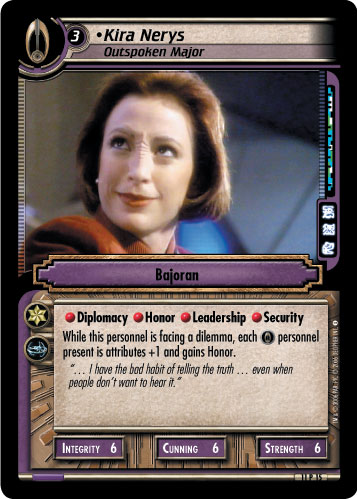 Kira Nerys (Outspoken Major)