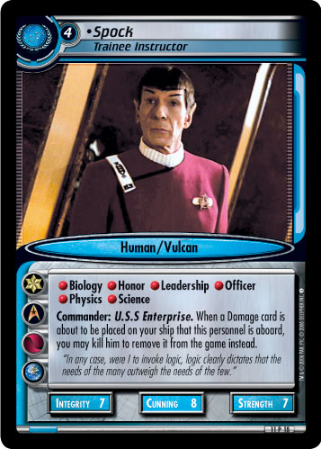 Spock (Trainee Instructor)