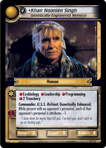 Khan Noonien Singh (Genetically-Engineered Nemesis)