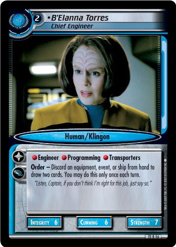 B'Elanna Torres (Chief Engineer)