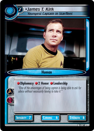 James T. Kirk (Youngest Captain in Starfleet)