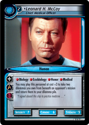 Leonard H. McCoy (Chief Medical Officer)