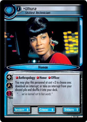 Uhura (Skilled Technician)