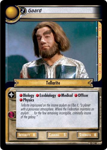 Diplomat 12C100 Star Trek CCG 2E These Are The Voyages Gav