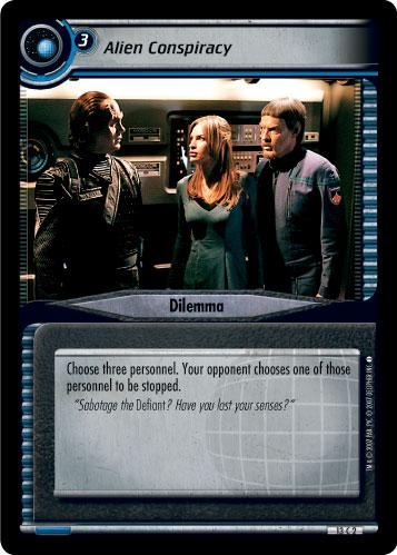 Star Trek CCG 2E Energize Sakonna Gunrunner 2R158