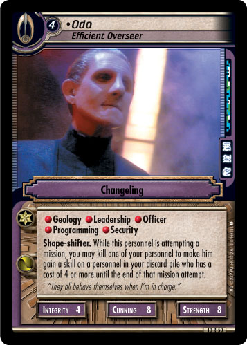 Odo (Efficient Overseer)