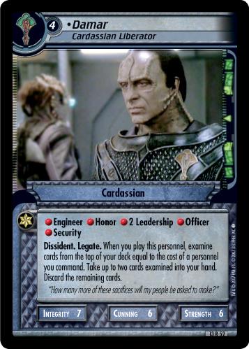 Damar (Cardassian Liberator)