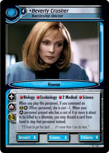 Beverly Crusher (Battleship Doctor)