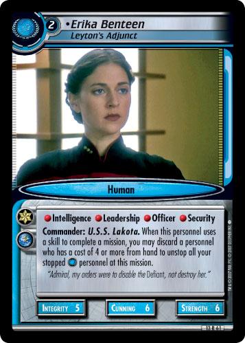 Erika Benteen (Leyton's Adjunct)